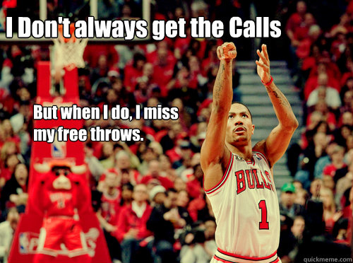 Derrick Rose Free Throws