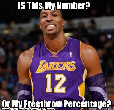 free throw percentage 12